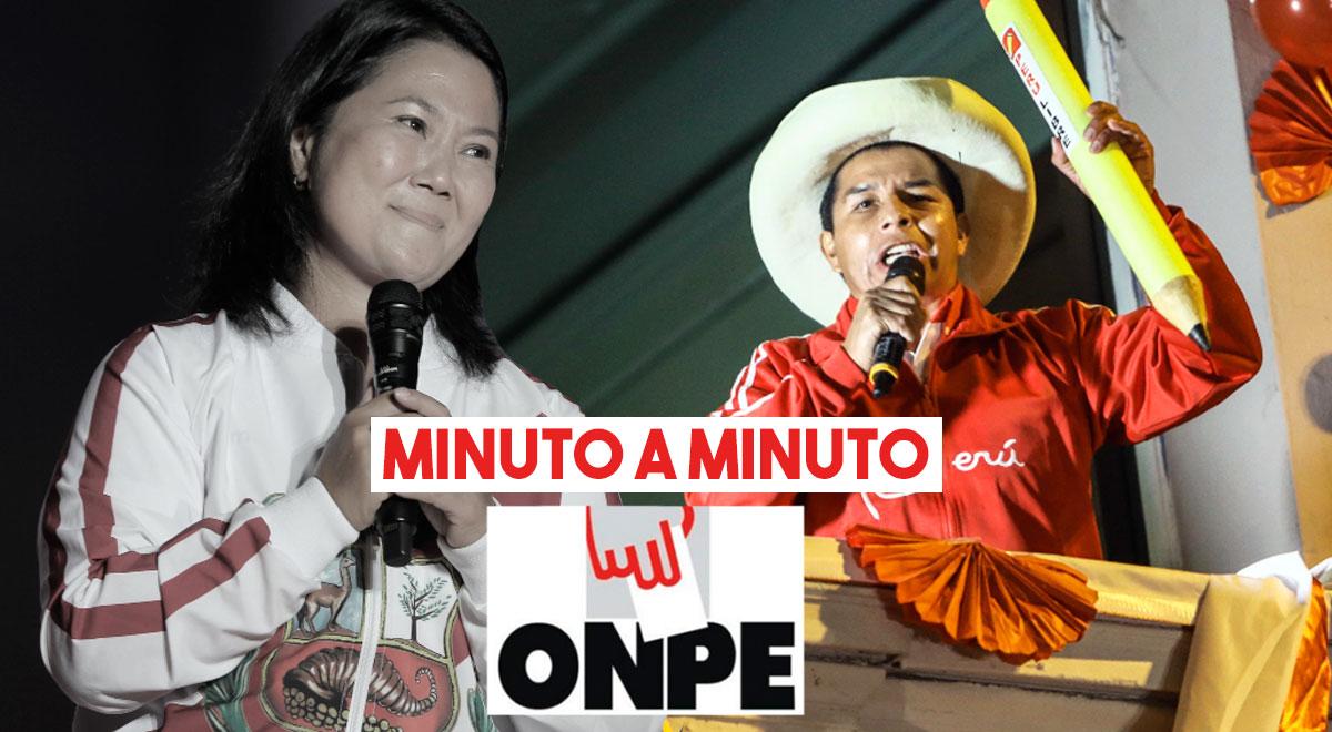 ÚLTIMOS resultados de la ONPE al 100 %: Pedro Castillo sería el virtual presidente del Perú