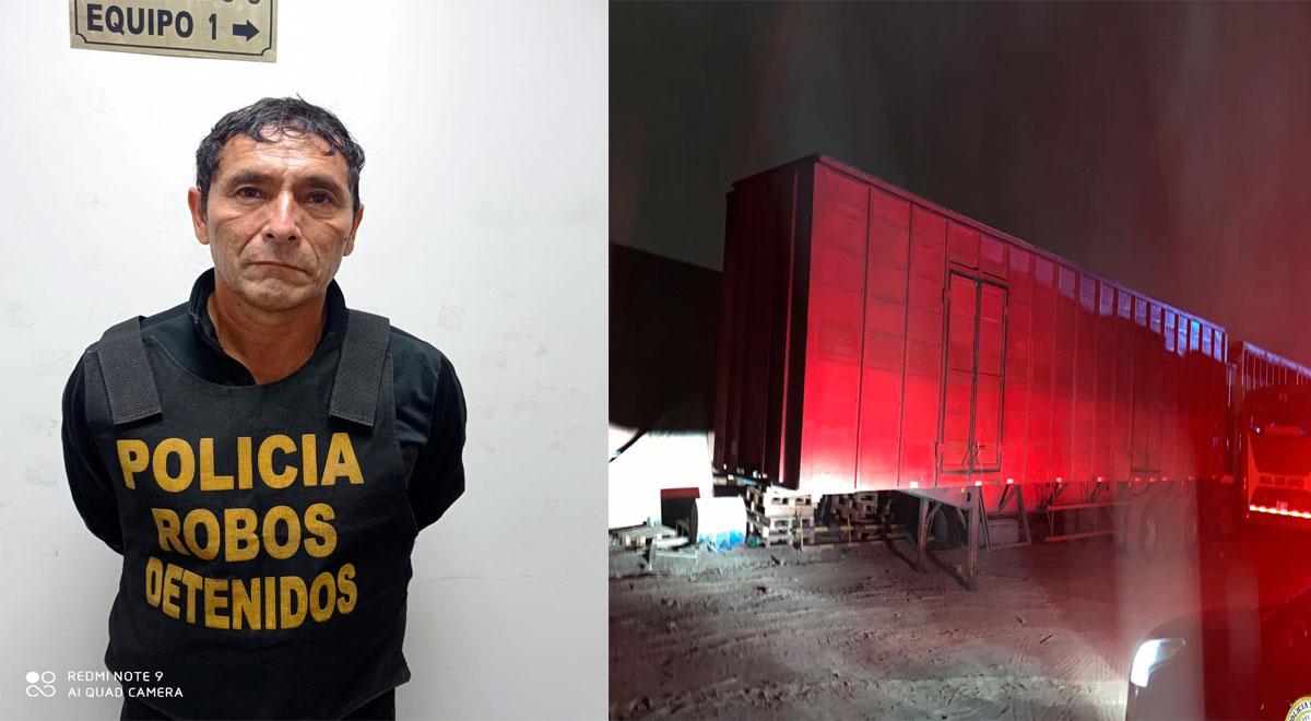 Ate Vitarte: PNP recupera camión robado con útiles de escritorio
