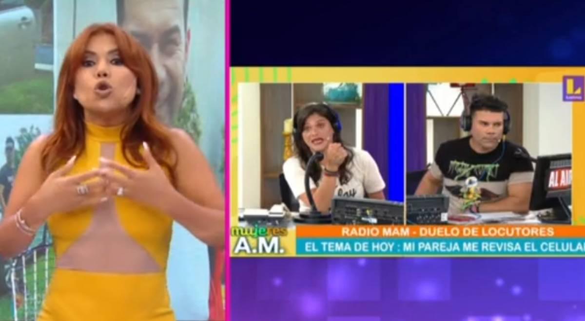Magaly crítica a Mujeres al Mando por invitar a Tomate Barraza tras ser denunciado por su expareja