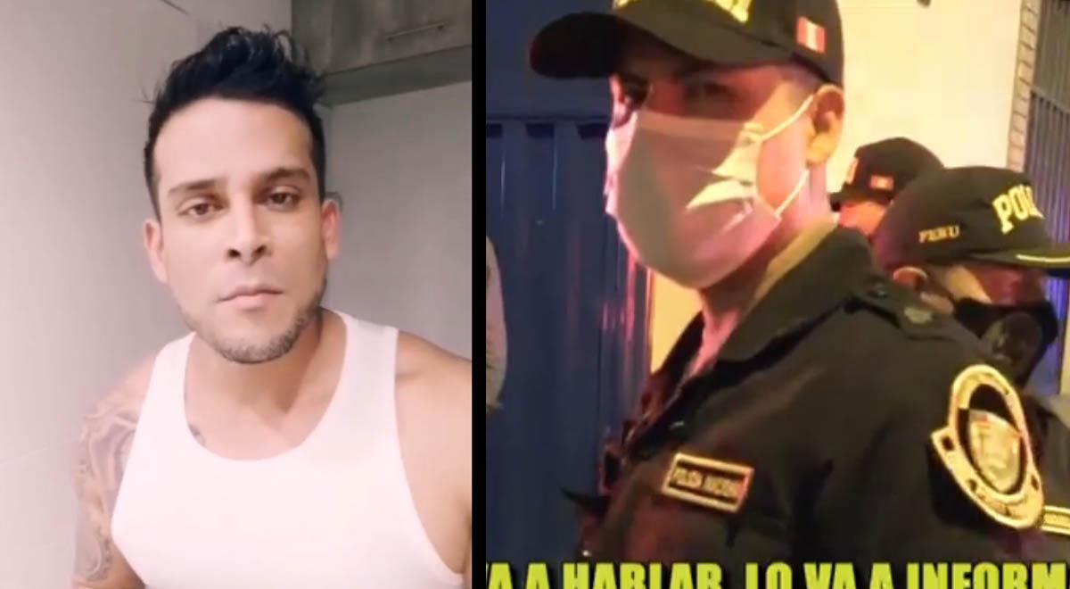 Christian Domínguez es intervenido por la policía tras mal uso de su pase laboral