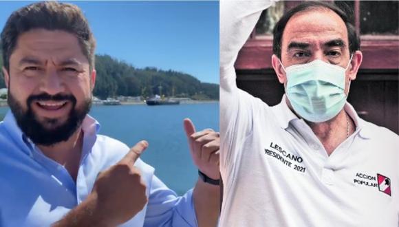"""Alcalde de Chile le responde a Yonhy Lescano: """"El Huáscar de nuestras costas no se mueve"""""""