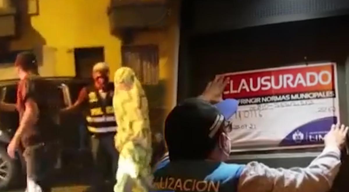 Hostal del Centro de Lima es clausurado por ejercerse la prostitución clandestina en plena pandemia