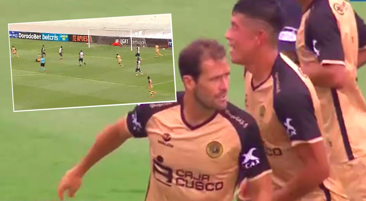 ¡Sorprendieron a Alianza Lima! Mauricio Montes adelantó a Cusco FC por la Liga 1 [VIDEO]