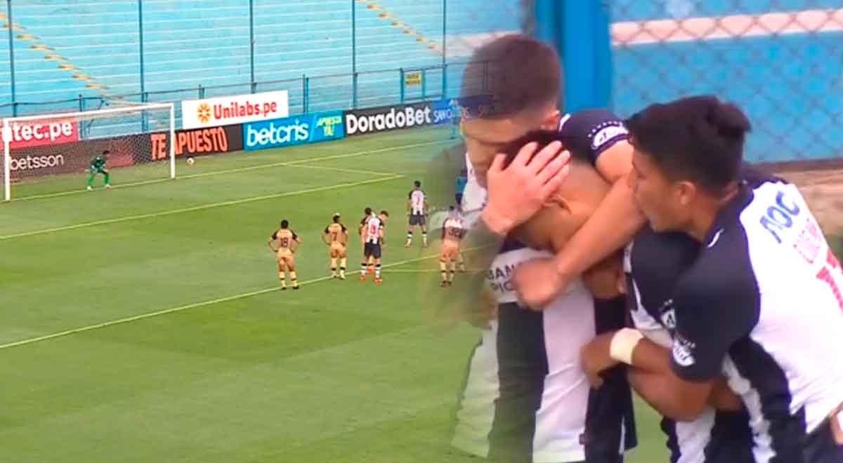 El primer grito de gol: José Manzaneda puso el empate para Alianza Lima ante Cusco FC