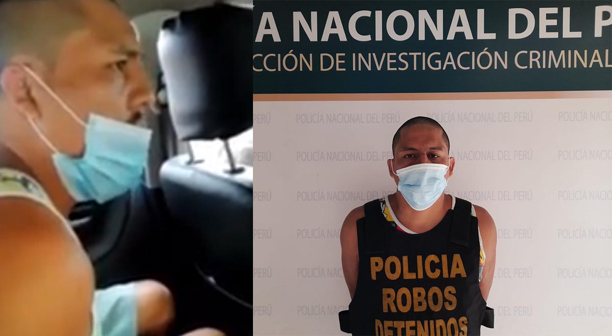 """Delincuente que robo boticas en Comas: """"No tengo bono, ni trabajo"""" [VIDEO]"""