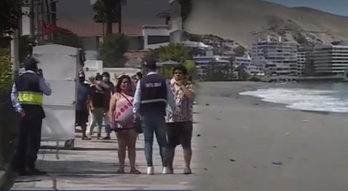 Aglomeración de personas fue controlada por el personal municipal de Ancón [VIDEO]