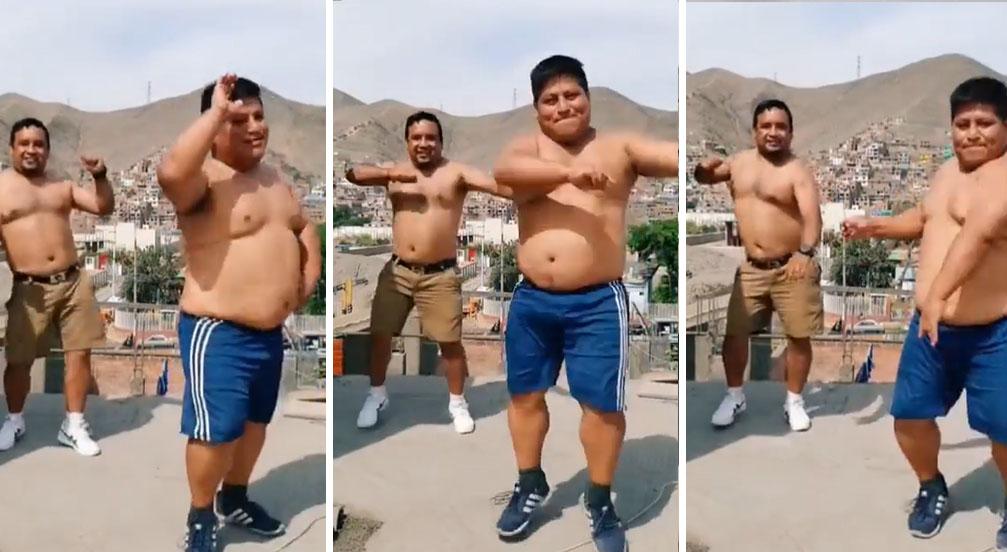 Peruanos bailan al ritmo de una pegajosa cumbia y sus peculiares pasos la rompen en Instagram