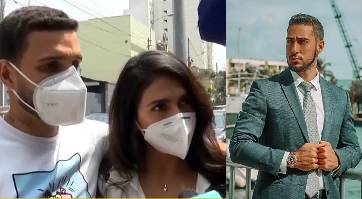 Vania Bludau niega haber llevado a Mario Irivarren al mismo hotel que su ex