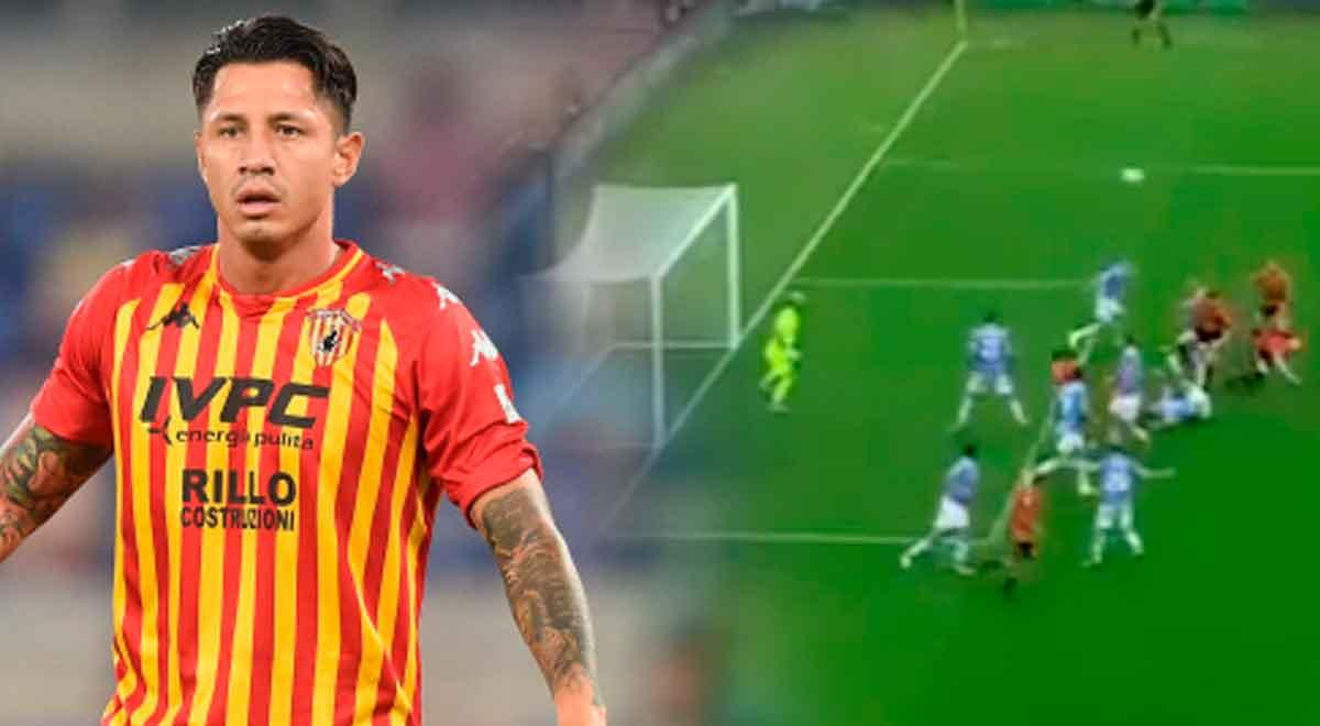 Gianluca Lapadula marcó gol en el Lazio vs. Benevento, pero el VAR le dijo que no
