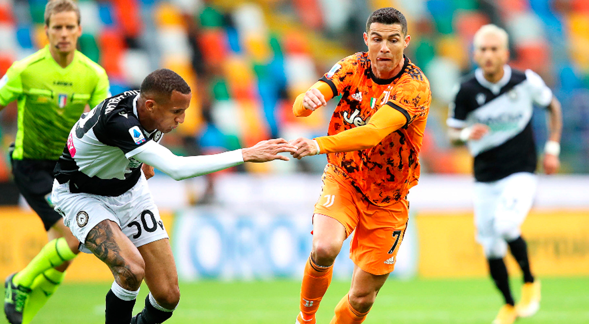 ¿Cristiano Ronaldo sin Champions League? Udinese marcó el 1-0 ante Juventus [VIDEO]