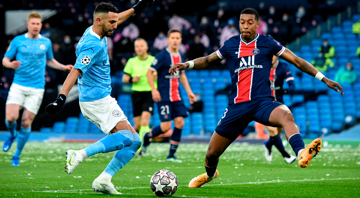 ¡Golpe para Neymar! Manchester City derrota 1-0 al PSG con buen tanto de Mahrez en semis de Champions
