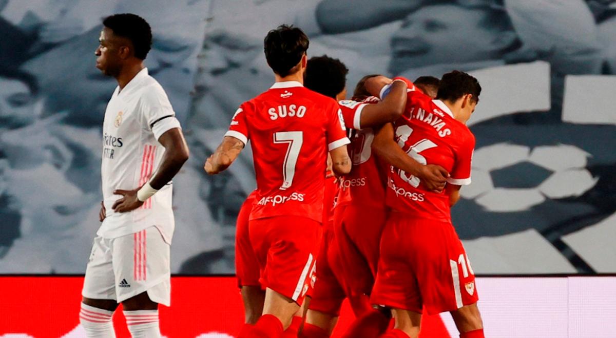 Sevilla da el primer golpe ante Real Madrid: gol de laboratorio que convirtió Reges por LaLiga