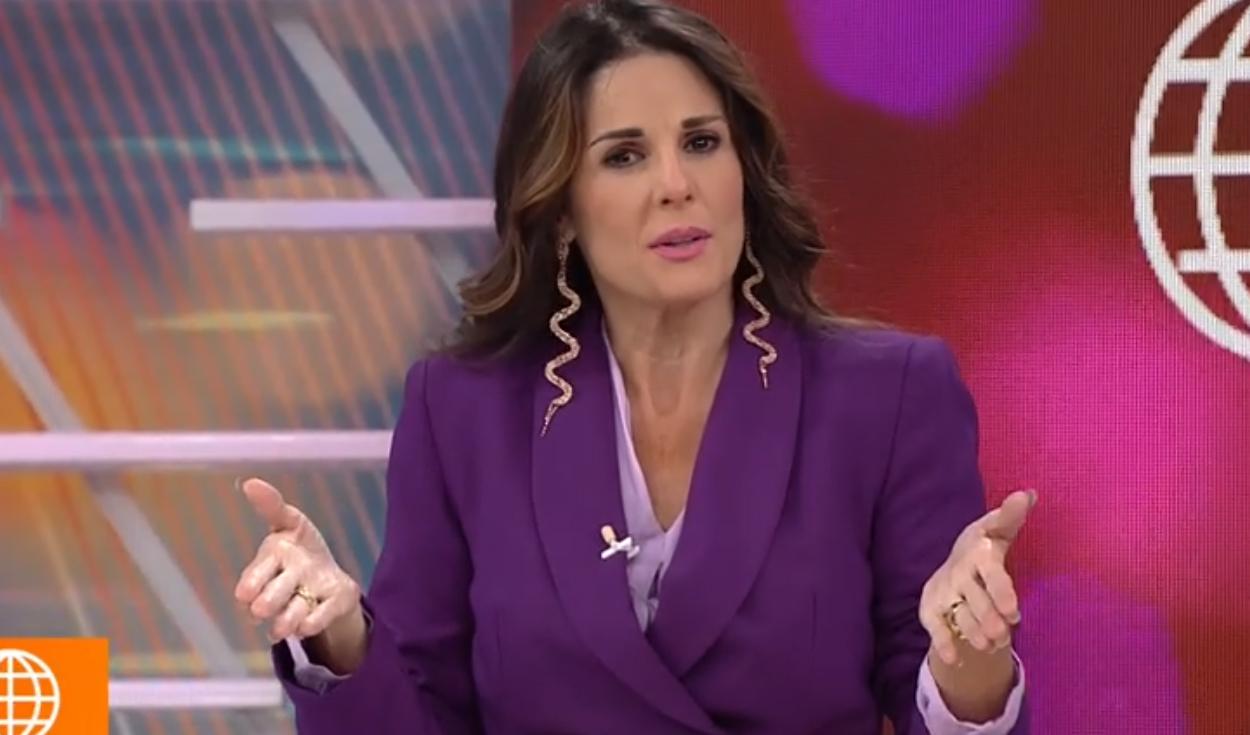 Rebeca Escribens criticó la participación de Anahí y María Grazia en 'El Artista del Año' [VIDEO]