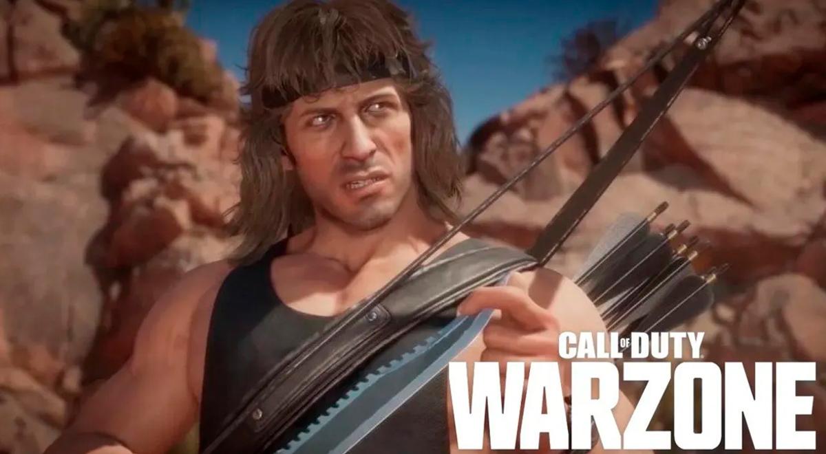 Rambo en Call of Duty Warzone: mira el tráiler oficial de CoD con su nuevo personaje