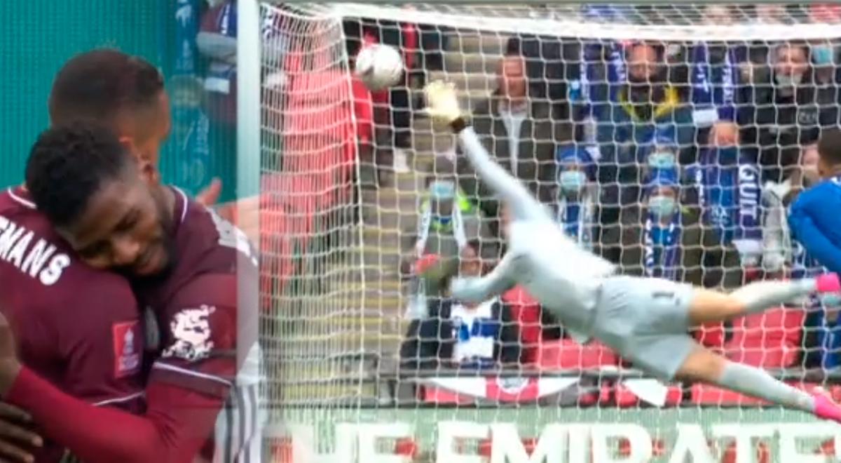 Chelsea vs. Leicester City: GOLAZO de Youri Tielemans, a favor de los Zorros, en la final de FA Cup