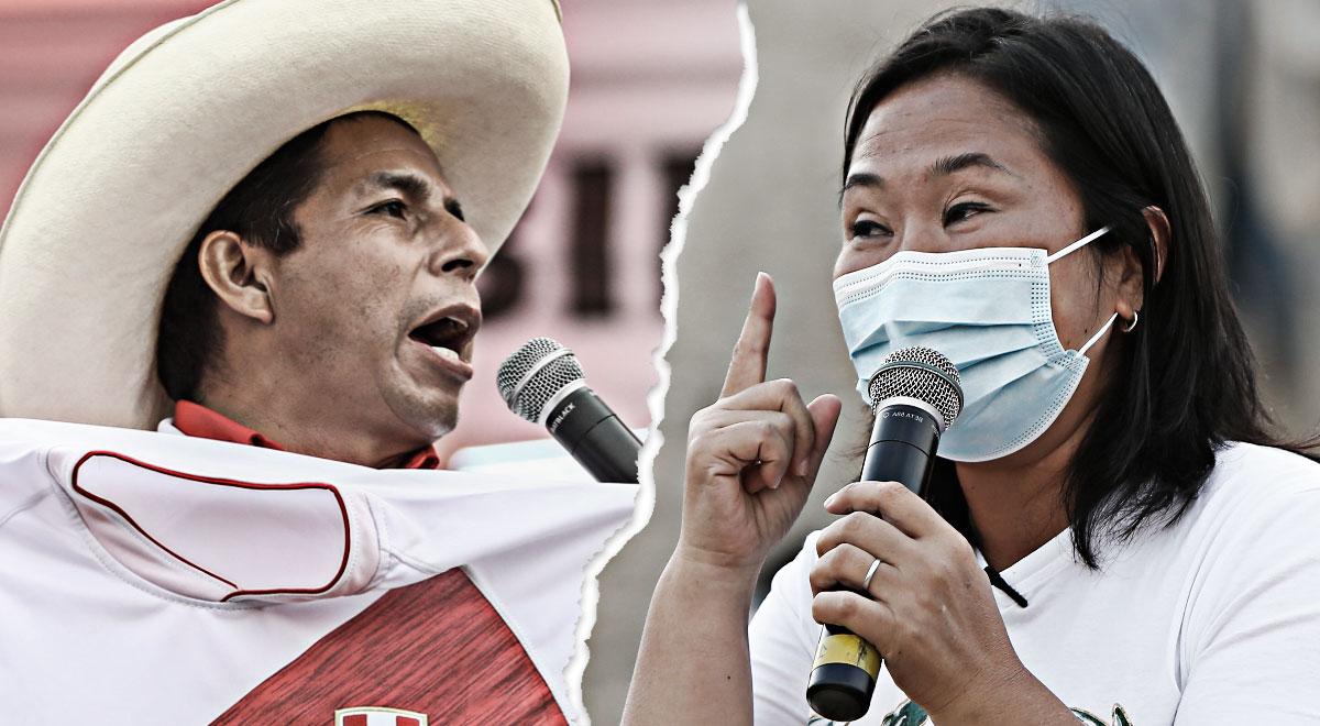 Flash Electoral de Ipsos vía América TV: resultado a boca de urna empate técnico de Fujimori vs. Castillo