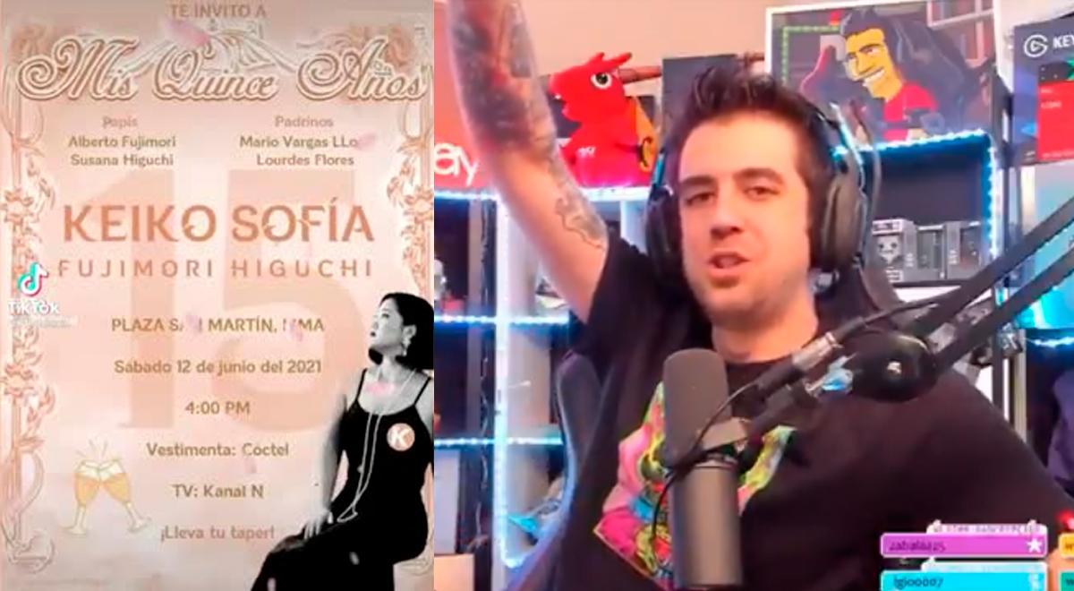 YouTube viral: saludo de youtuber Auron a Keiko por 'kinceañero' se hace viral