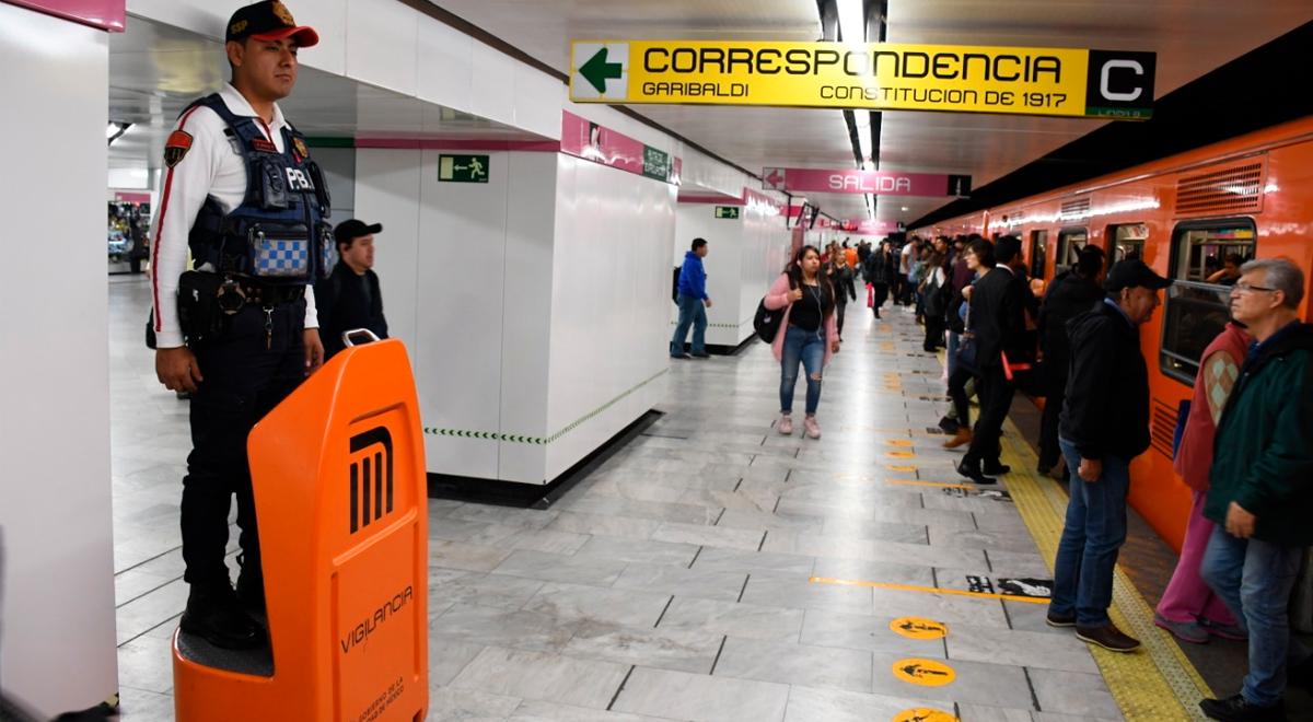 Twitter viral: denuncian que policía noqueó a un hombre por no usar mascarilla en Metro CDMX