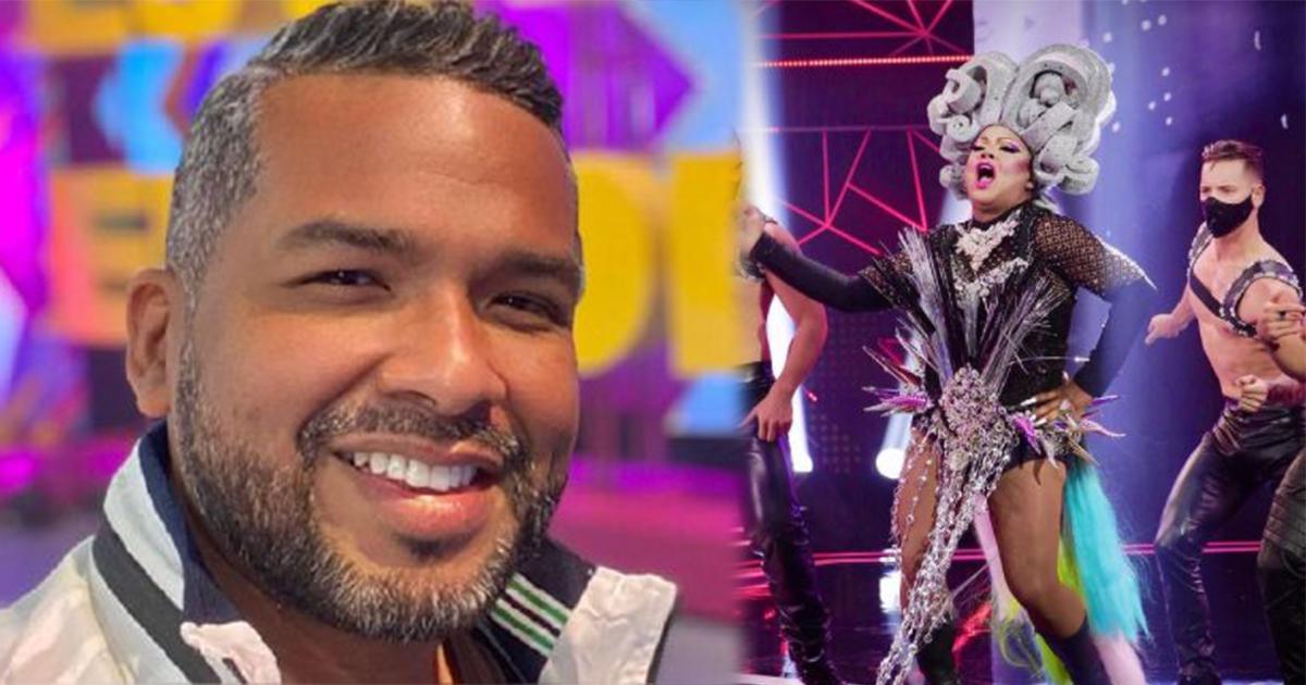 Choca y el detrás de cámaras de su participación como 'Drag Queen' en 'El artista del año'