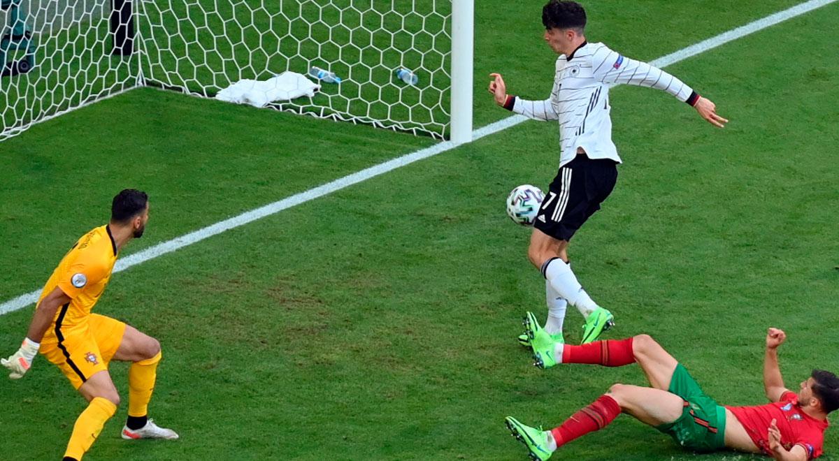 Alemania, de perder 1-0 a ganar 4-2: le dio vuelta a Portugal y Cristiano Ronaldo lo sufre