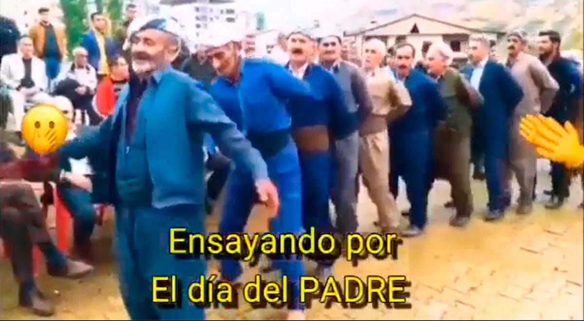 Facebook viral: se viraliza 'ensayo' por el Día del Padre al ritmo de Los Mirlos