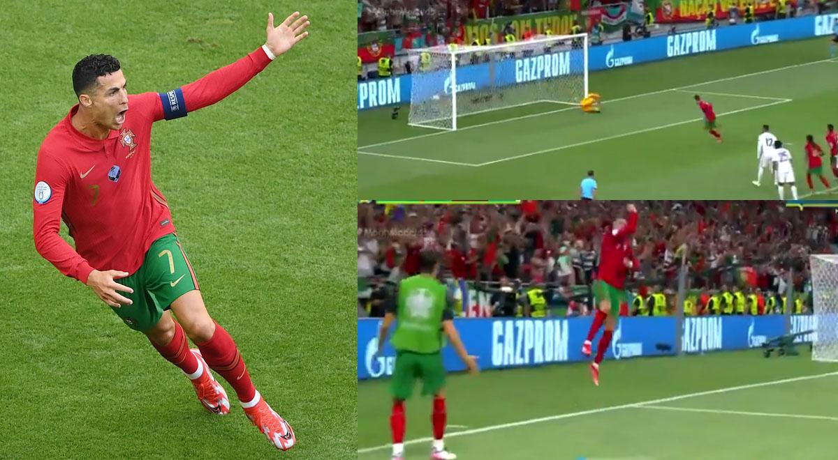 ¡Siuuu! Cristiano Ronaldo le rompió el arco a Hugo Lloris para el 1-0 de Portugal ante Francia [VIDEO]