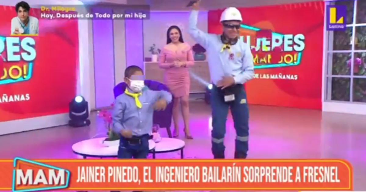 Ingeniero Bailarín reaparece para cumplir el sueño de un niño en Mujeres al Mando [VIDEO]