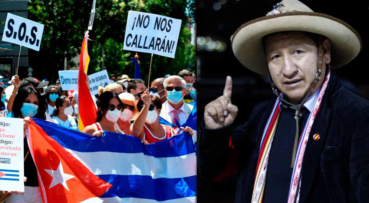 """""""No hay dictadura en Cuba"""" dice Guido Bellido, el nuevo presidente de la PCM"""