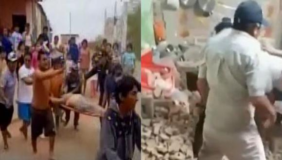 Temblor en Piura: Diresa reporta al menos 35 heridos, entre ellos un adulto mayor, gestante y menor