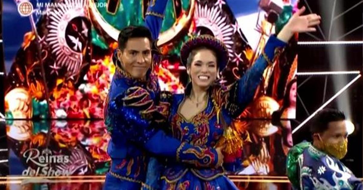 Jazmín Pinedo sorprende a ritmo de caporales en Reinas del Show [VIDEO]