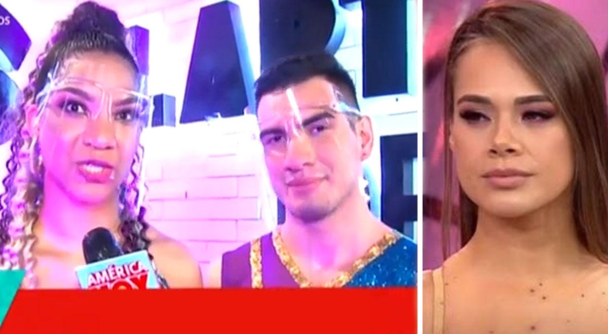 Carla Rueda: Bailarín revela que le gusta la 'Cotito' y calla a Jossmery Toledo [VIDEO]