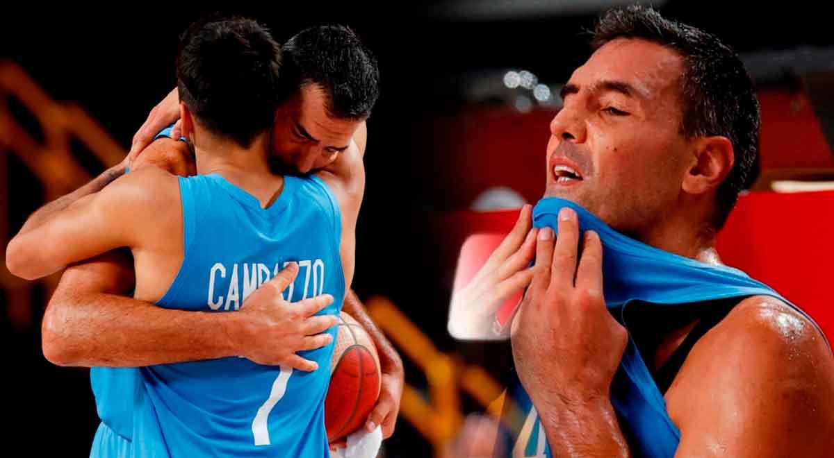 Tokio 2020: Luis Scola, leyenda viva del básquet, le dijo adiós a los JJ. OO. y el estadio lo aplaudió