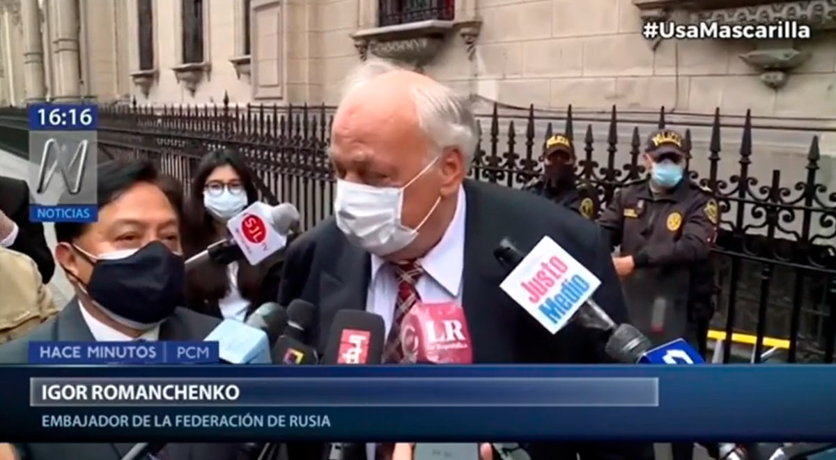"""La peculiar respuesta del embajador ruso sobre llegada de la vacuna Sputnik V: """"No sé"""""""