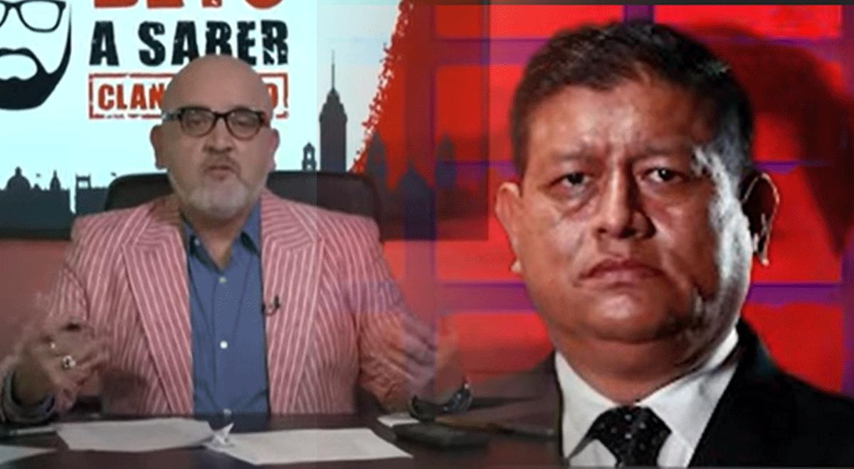 """Beto Ortiz insulta y tilda de """"inepto"""" al ministro de Defensa, Walter Ayala"""