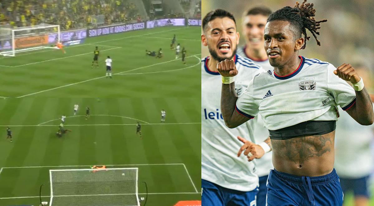 """""""¡No me olviden!"""": Yordy Reyna anotó esta 'pinturita' en triunfo del DC United en la MLS [VIDEO]"""