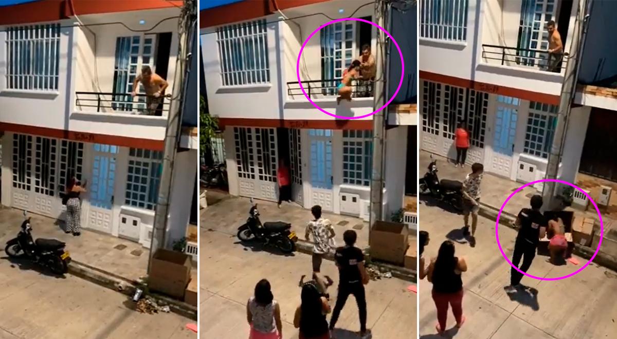 TikTok video viral: Mujer encuentra a su esposo y a su joven amante en el cine y persecución se