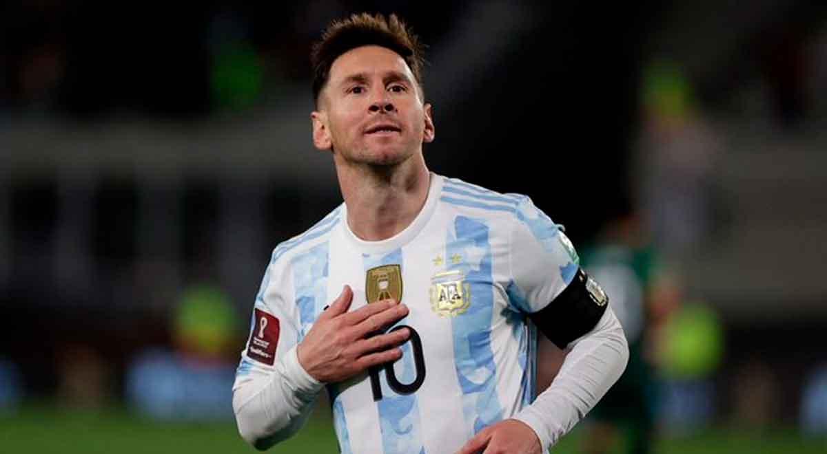 Huacha, al ángulo y festejo: Lionel Messi anota golazo en el Argentina vs. Bolivia e igualó récord de Pelé