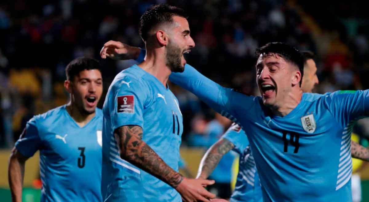Uruguay ganó a su estilo: sobre la hora y con un cabezazo de Gastón Pereiro ante Ecuador