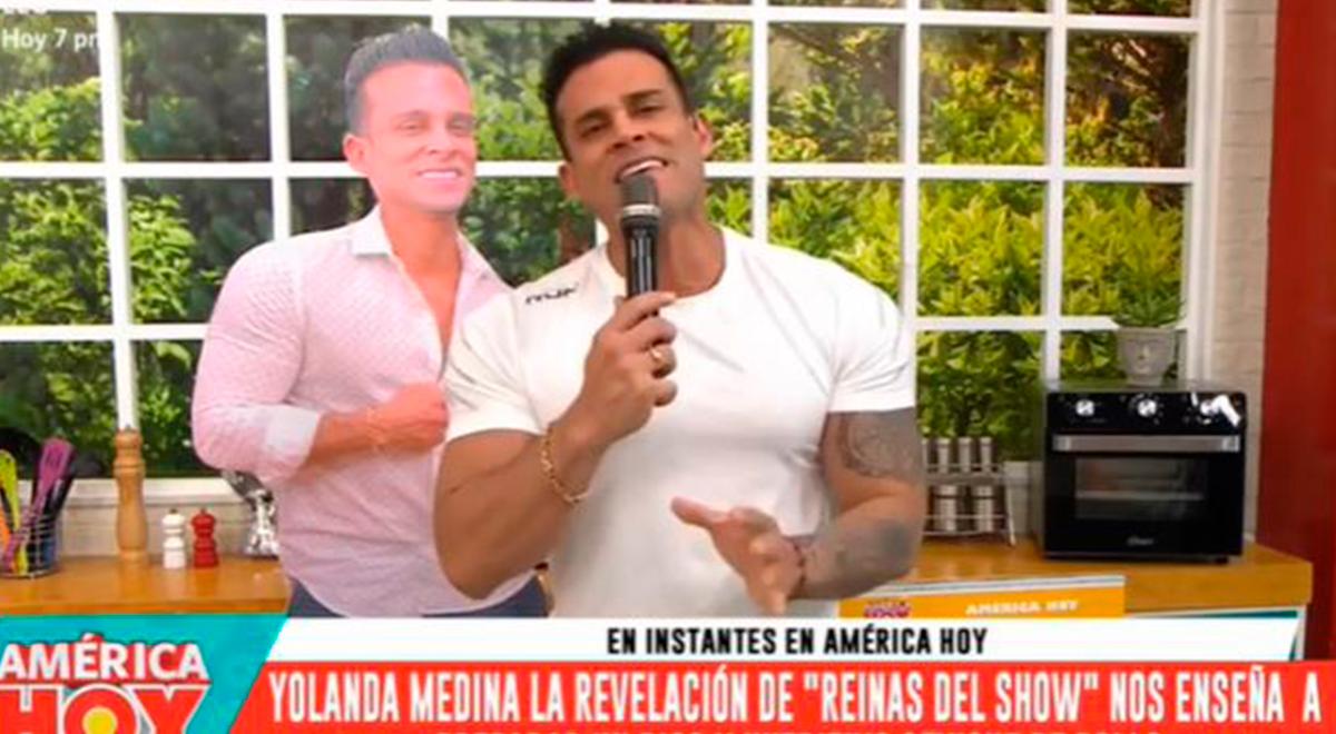 Christian Domínguez reaparece en América hoy tras ausentarse por visita de Vania Bludau