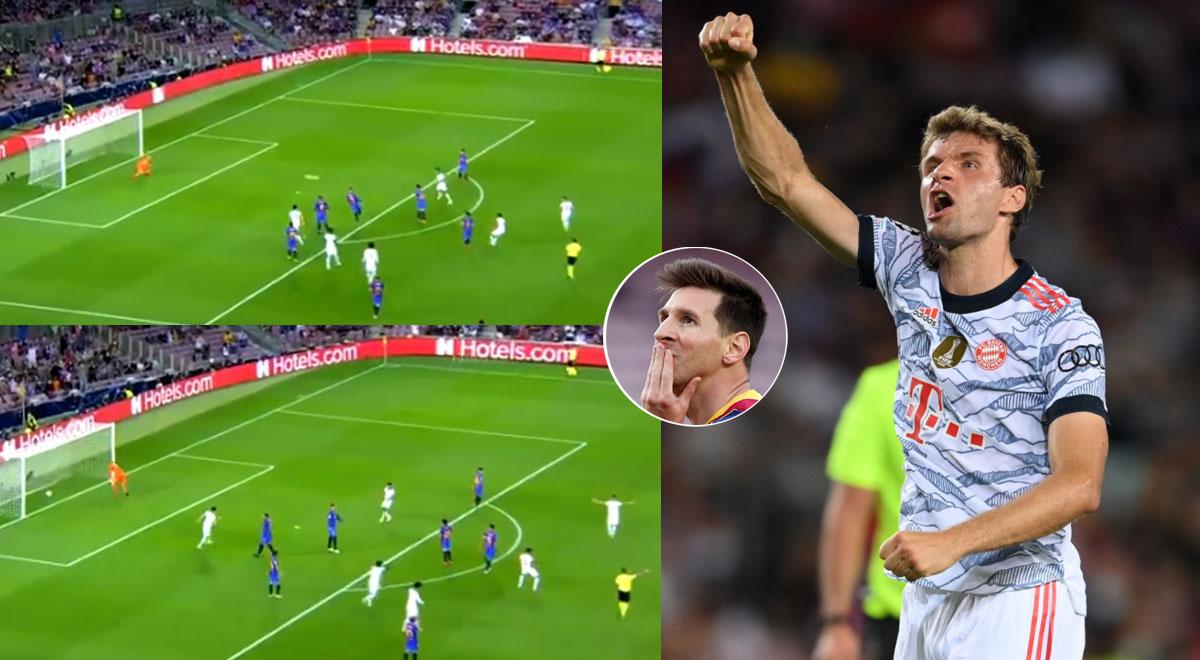 Extrañan a Messi: Barcelona fue sorprendido por Bayern Múnich con 'bombazo' de Müller [VIDEO]