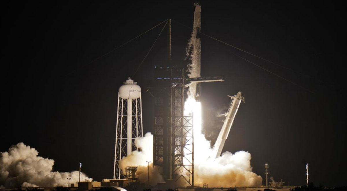SpaceX: revive el despegue de la misión histórica Inspiration4 con solo civiles [VIDEO]