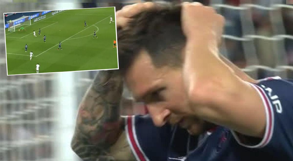Lionel Messi no lo podía creer: Lucas Paquetá lo 'dejó mudo' con el 1-0 de Lyon a PSG [VIDEO]