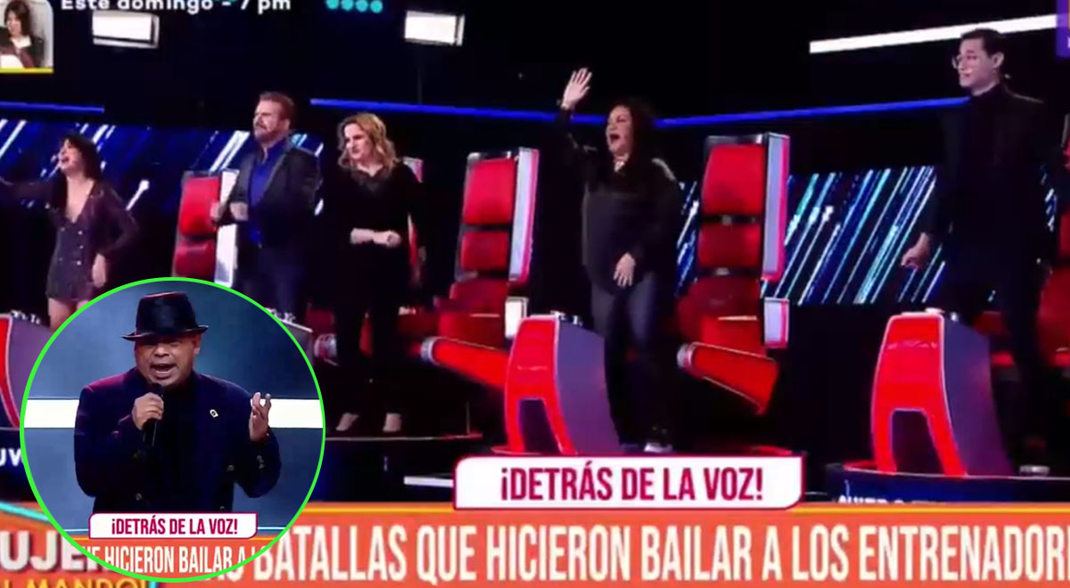 Batallas en La Voz Senior que hicieron bailar a los entrenadores [VIDEO]