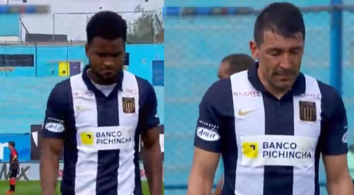 Alianza Lima: Aldair y 'Pájaro' Benítez querían ganar a Melgar, pero los cambian a la vez por lesión [VIDEO]