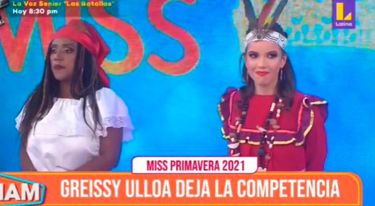 Greysi Ulloa es eliminada en el Miss Primavera 2021 en Mujeres al mando [VIDEO]