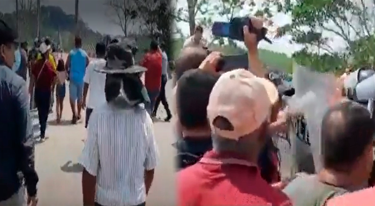 Madre de Dios: Ciudadanos realizan plantón exigiendo reabrir el pase fronterizo