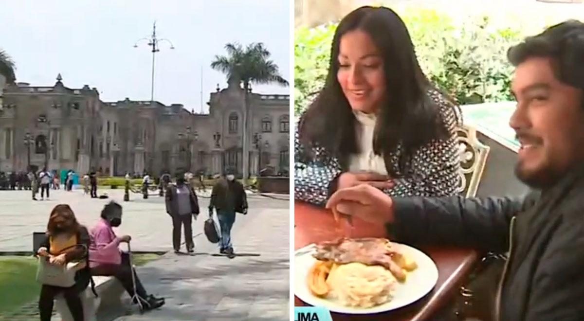 Plaza Mayor de Lima: así se ve el centro histórico tras ser reabierto después de dos meses