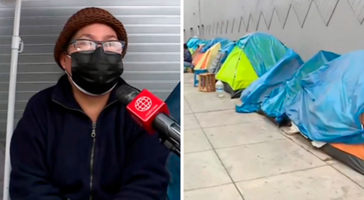 Breña: madre viene acampando desde hace un año afuera del Hospital del Niño por su hija