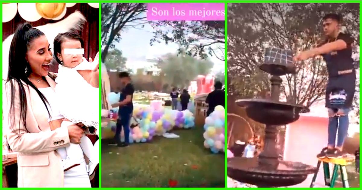 Samahara Lobatón comparte primeros clips de majestuosa decoración para el cumple de Xianna