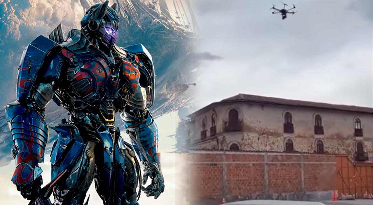 Transformers en Cusco: Optimus Prime en choque explosivo con auto de los Terrorcons